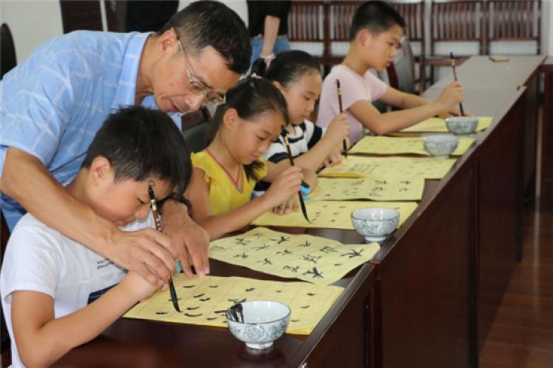 国立教育少年书法加盟