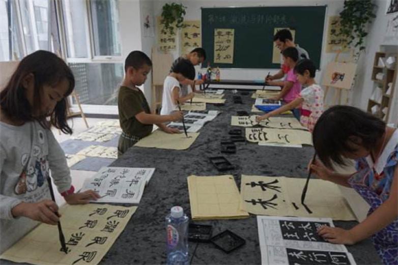 铭艺美术书法培训加盟