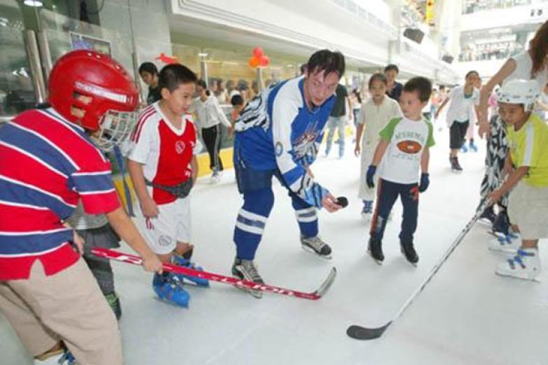 欧悦真冰溜冰场加盟