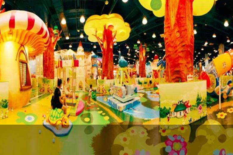 梦幻王国儿童乐园加盟