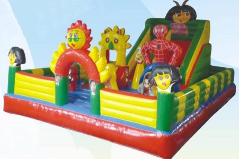 室外充气儿童乐园加盟