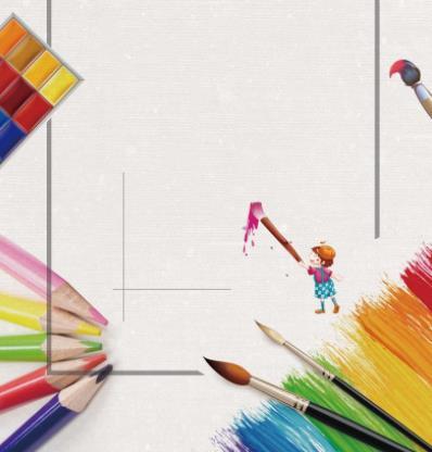 涂涂画画创意美术