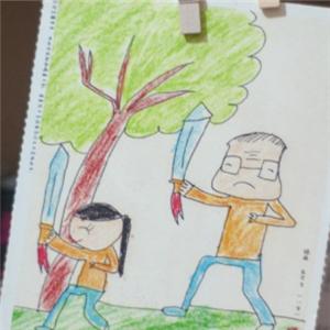 枫林晚幼儿美术